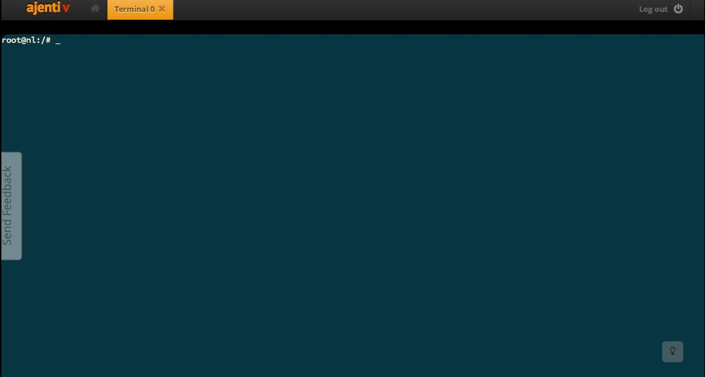 Ajenti V - бесплатная панель управления с большими